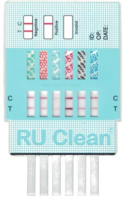 RU Clean 12 Drug Urine Test Instructions