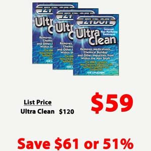 Zydot Ultra Wash Shampoo 3 Pack